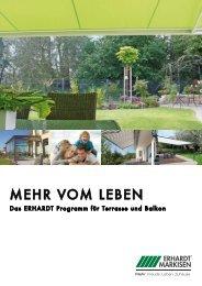 Erhardt Prospekt.pdf - Markisen-steinhuebel.de