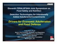 Presentation (PDF 4.77MB) - The Food and Environment Research ...