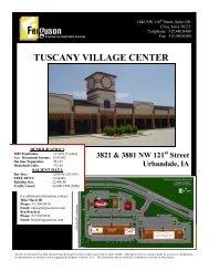 tuscany village center - Ferguson Commercial Real Estate Services