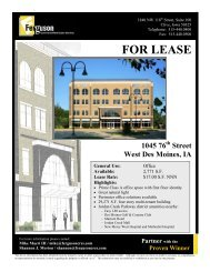 FOR LEASE - Ferguson Commercial Real Estate Services
