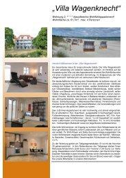 """""""Villa Wagenknecht"""" - Ferienvermietung-online.de"""