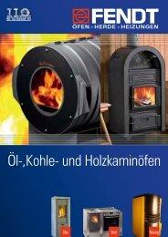 Öl-, Kohle und Holzkaminköfen - Eisen Fendt GmbH