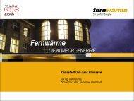 FUG - Verband Fernwärme Schweiz