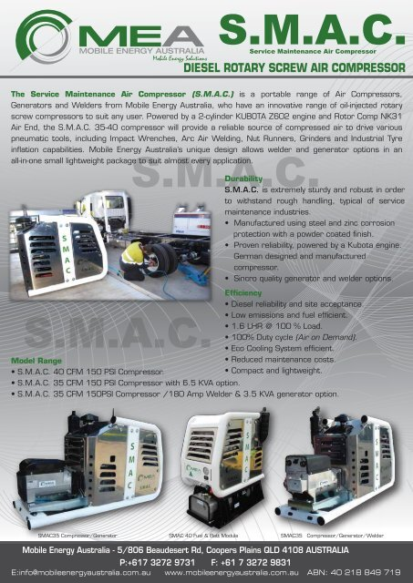diesel rotary screw air compressor - Ferret