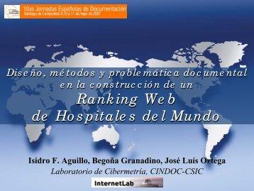 Ranking de Hospitales del Mundo - Fesabid
