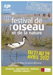 Reglement concours photo 2012F ANG.indd - Festival Oiseau Nature