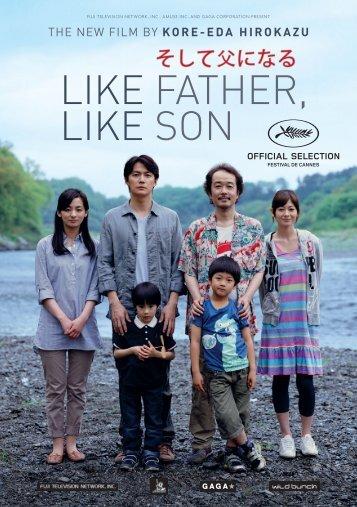 LIKE FATHER, LIKE SON - Cannes International Film Festival