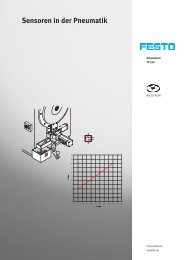Sensoren in der Pneumatik - Festo Didactic