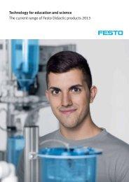 Catalogue en 2013 - Festo Didactic