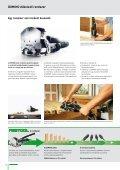 + + DOMINO dübelező rendszer - Festool - Page 3