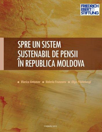 spre un sistem sustenabil de pensii în republica moldova
