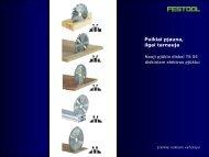 Nauji pjūklo diskai - FESTOOL
