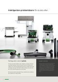 Produkt sortimen dammsugare - Festool - Page 4