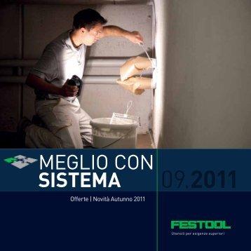 Scarica la brochure novità/offerte per pittori - Festool