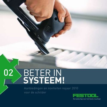 Beter in SySteem! - Festool