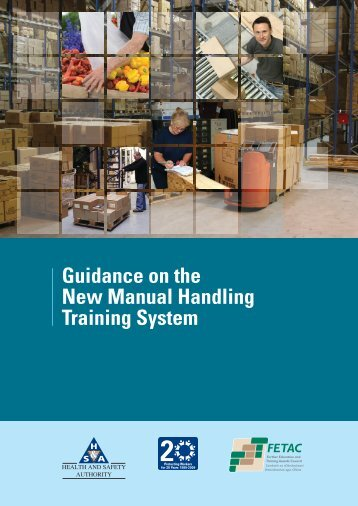 Guidance on the New Manual Handling Training System - Fetac