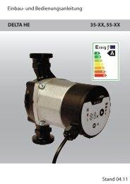 Energieeffizienzpumpe Delta HE - AVAG-Pumpen