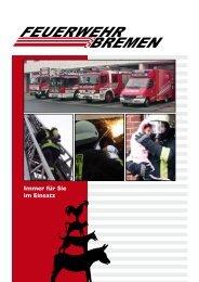 Immer für Sie im Einsatz - Feuerwehr Bremen