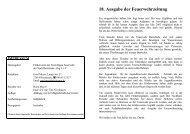 Ausgabe 18 - Freiwillige Feuerwehr der Stadt Buxtehude