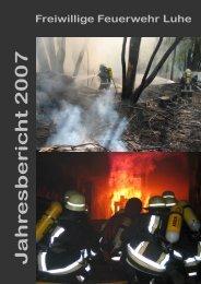 Jahresbericht 2007 - Freiwillige Feuerwehr Luhe-Markt