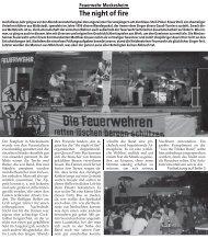 Bericht Elsenztaler Woche - Feuerwehr Meckesheim