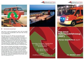 Flyer download - Feuerwehr Geiselbullach