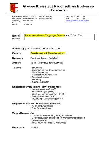 Ausführlicher Bericht als PDF - Freiwillige Feuerwehr Radolfzell