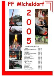 Jahresbericht 2005 - Freiwillige Feuerwehr Micheldorf in OÖ
