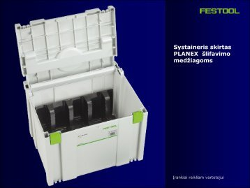 Systainer SYS-STF-D225 - FESTOOL