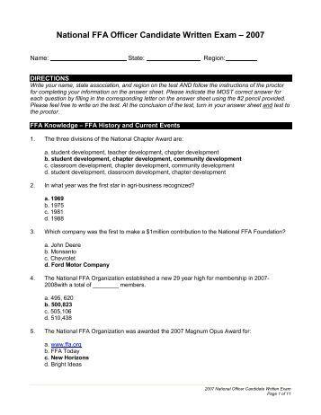 ffa student resume ffa officer resume mackenzie recognized for
