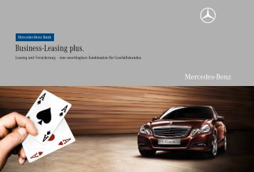 Business-Leasing plus. - Mercedes-Benz Niederlassung Berlin