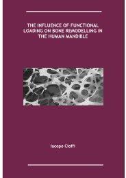 PDF (tesi dottorato XXI ciclo Scienze Odontostomatolgiche ... - FedOA