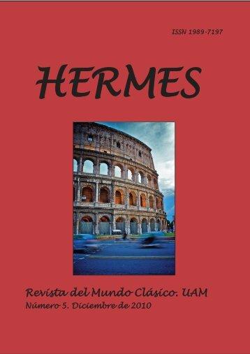 91c2412b830 Hermes nº 7 - Facultad de Filosofía y Letras - Universidad Autónoma ...