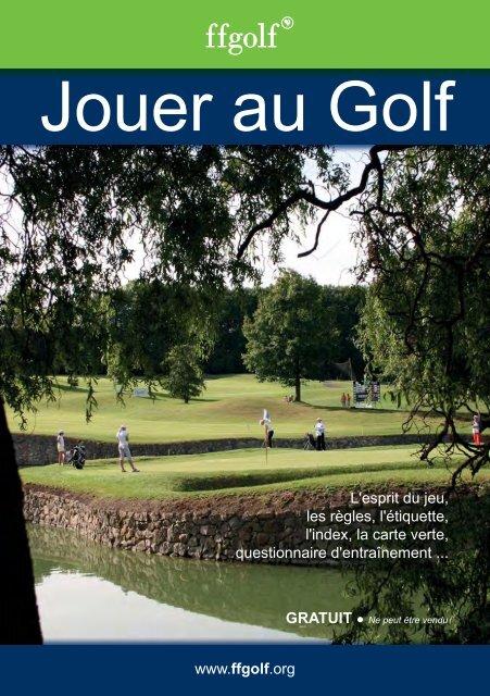 Index Carte Verte Golf.Livret Jouer Au Golf Federation Francaise De Golf