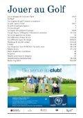 Livret Jouer au golf - Fédération Française de Golf - Page 3