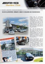 zum original Beitrag der AMG Owners Club Zeitschrift - Jürgens Gmbh