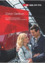 Zürich Oerlikon. - CFF