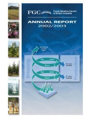 FGC Annual Report 2002 / 2003 - Forest Genetics Council of British ...