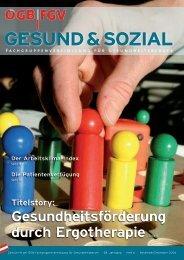 Ausgabe 6/2006 - Arge FGV für Gesundheits- und Sozial Berufe