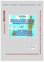 Norddeutsches Journal für Wohn-Pflege-Gemeinschaften,Thema