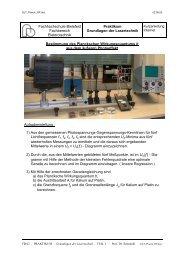 Plancksches Wirkungsquantum - Fachhochschule Bielefeld