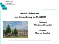 Herzlich Willkommen - Fachhochschule Bielefeld