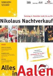 Nikolaus Nachtverkauf