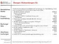 Betriebliches ReWe Finanz- buchhaltung Buchungs- fälle Abschluss ...
