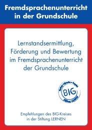 Lernstandsermittlung, Förderung und Bewertung - Stiftung LERNEN