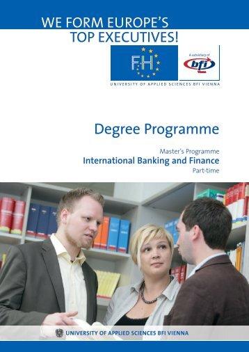 Degree Programme BAFI MA (PDF, 919,72 kB)