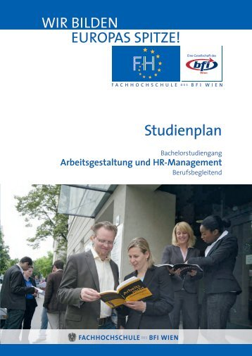 Studienplan AGHR BA - FH des BFI Wien
