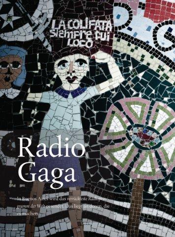 In Buenos Aires wird das verrückteste Radiopro ... - Felixhutt.com
