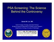 PSA Screening: The Science Behind the Controversy
