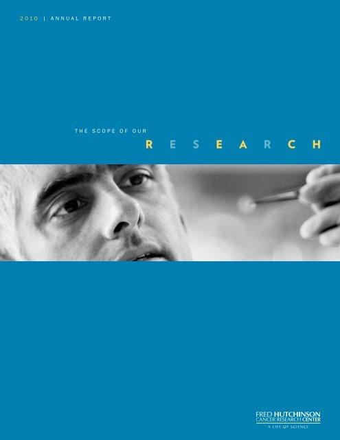 R E S E A R C H Fred Hutchinson Cancer Research Center